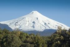 Villarica Volcano At Pucon
