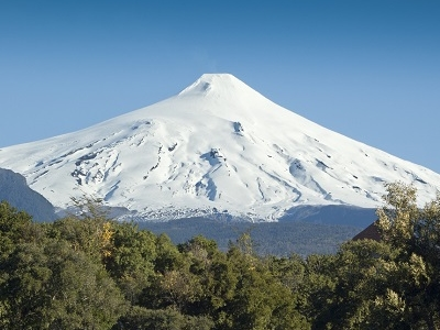 Villarica Volcano At Pucon