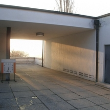 Villa Tugendhat Entrance