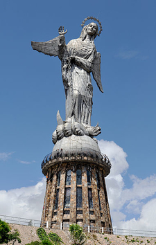 Virgen De Quito Panecillo