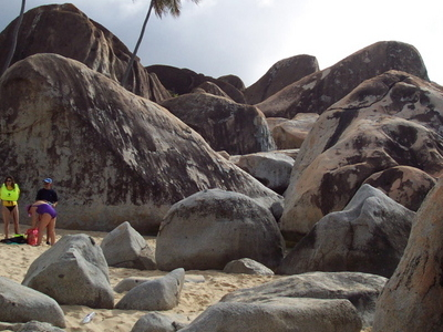 Boulders At The Baths