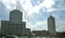 Virginia Beach Town Center Skyline