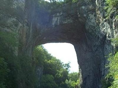 Natural Bridge In Rockbridge County.