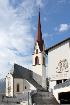 Visitation Of Maria Church, Sölden, Austria