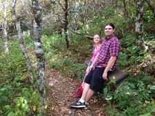 Visiting Craggy Gardens - Asheville NC