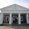 Visitor Center Entrance At Manassas Battlefield