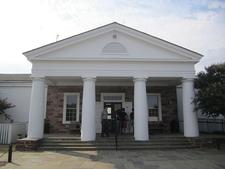 Visitor Center Entrance At Manassas Battlefield