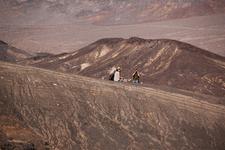 Visitors Along Crater Rim