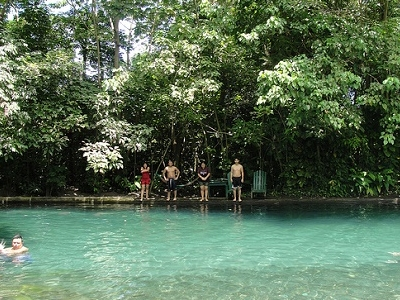 Visitors At Ometepe Island - Lake Nicaragua