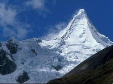 Vista Del Nevado De Alpamayo