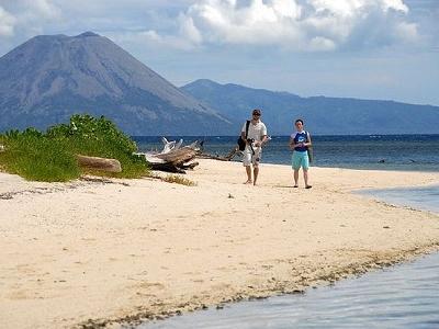 Vistors In Rabaul - Papua New Guinea