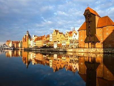 Vistula River At Gdansk