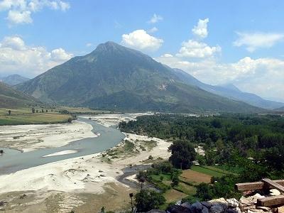 Vjosë Upstream From Tepelenë
