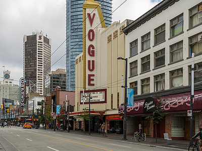 Vogue Theater, Vancouver