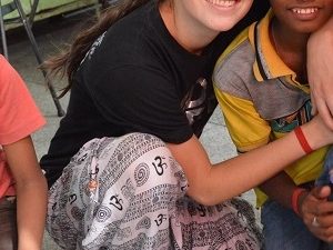 Volunteer With Orphan and Kidnapped Children