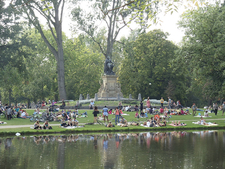 Vondelpark Is The Largest Park In Amsterdam