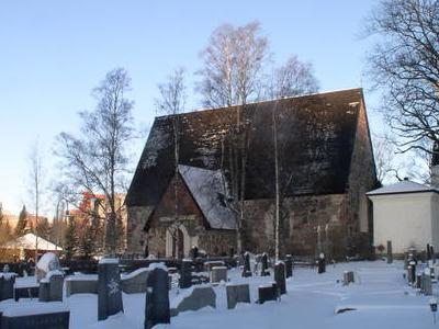 Medieval Church Of Vanaja