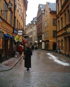 Vasterlanggatan From Storkyrkobrinken