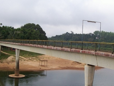 Sri Vidya Teertha Setu Across The Tunga River