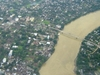 Barak River Flows Around Silchar Assam