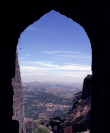 View From Sinhagad Pune Darwaja