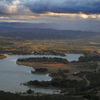 View From Telstra Tower At Sunset