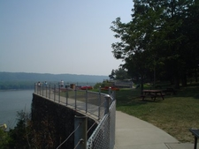 Mississippi River From Eagle Point Park