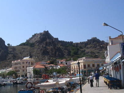 View Of The Promenade And The Fortress.