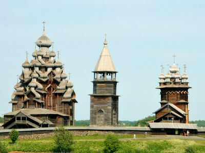 View Of Two Main Churches