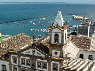 Harbour Area From Hotel  Arthemis    Salvador