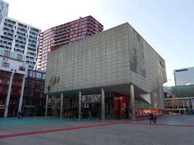 View From Side Rotterdamse Schouwburg