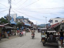 View Of Road In Caramoan