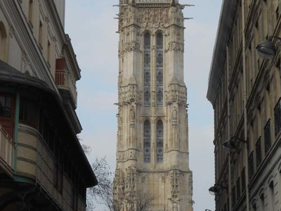 View Of Saint Jacques Tower