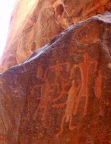 Wadi Rum Petroglyph Family