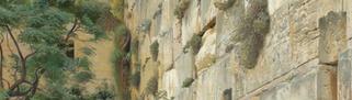 Wailing  Wall By  Gustav  Bauernfeind