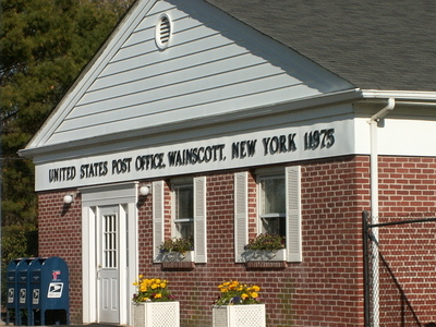 Wainscott  Post  Office