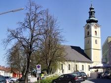 Waizenkirchen Parish Church, Upper Austria, Austria