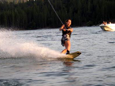 Wakeboarding Before Sunset