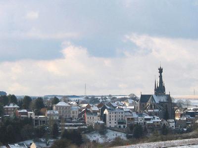 Walcourt Under Snow