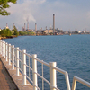 Walking Trail Next To The St. Clair River In Sarnia.