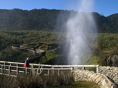 Walkway & Blowhole @ Pancake Rocks - Punakaiki - West Coast NZ