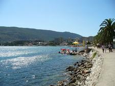 Walkway In Herceg Novi