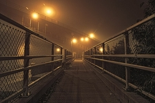 Walkway To Casco Bay Bridge - Portland ME