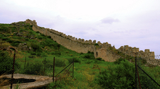 Walls Of Acrocorinth Old Fortress - Corinth
