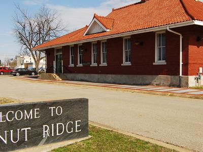Walnut Ridge Historic Rail Depot And Now Amtrak Station