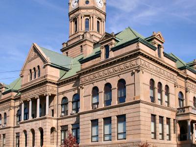 Wapakoneta  Ohio  Courthouse