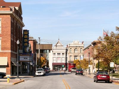 Wapakoneta  Ohio  Downtown