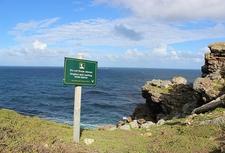 Warning At Cape Point Nature Reserve SA
