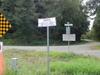 Warning Sign At  Point  Roberts
