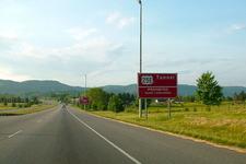 Warning Signs Near Cumberland Gap